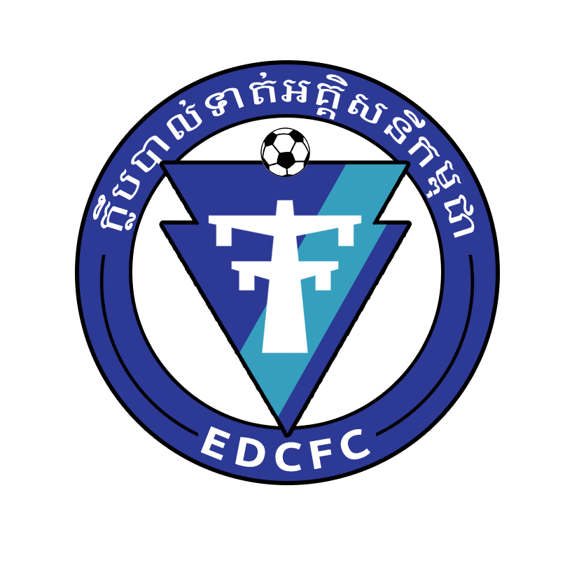 The 2020 EDC football club rebrand final crest design, by clan united.